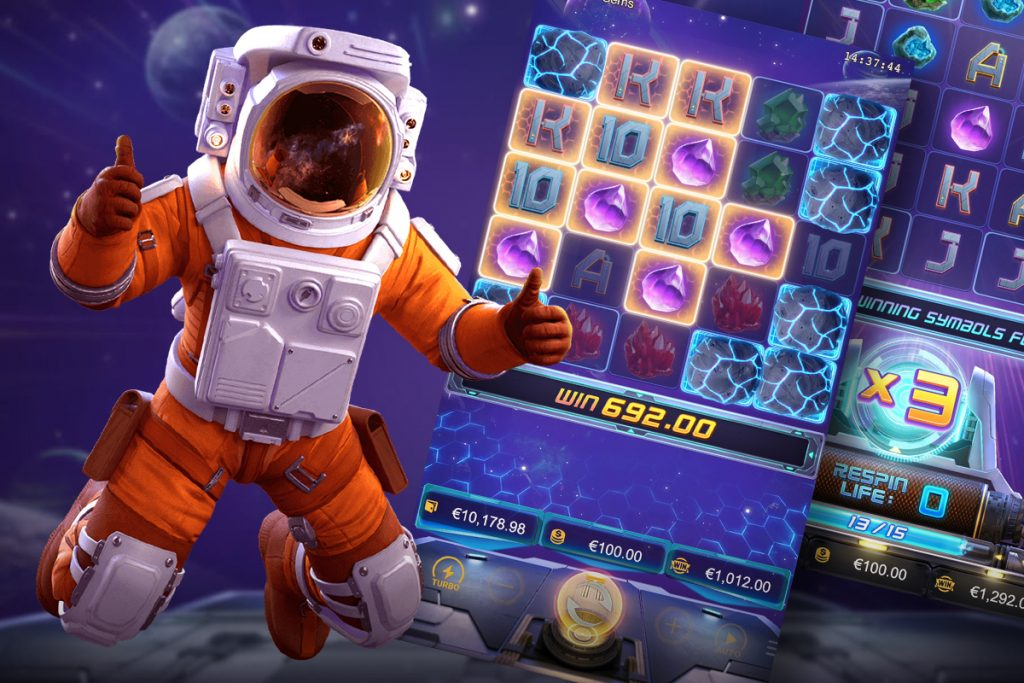 เกมสล็อตแตกง่าย - Galactic Gems